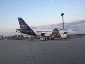 L'aéroport de Francfort